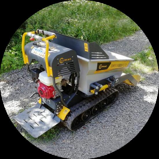 Dumper - motorové kolečko